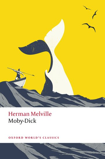 """Book Cover of """"Moby-Dick, Edited by Hester Blum"""""""